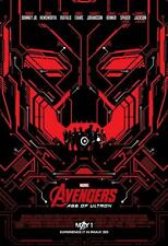 """Avengers: Age Of Ultron ORIGINAL S/S 13""""x19"""" IMAX Movie Poster """"Red"""""""