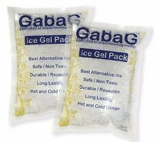 Ice Gel Pack (2 Packs) Cold / Thermal Pack 1kg total weight for Cold or Hot Use