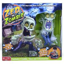 Zed The Zombie Unrest In Pieces Kids Clock Race Assembly Game Toy Figure Playset