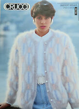 CRUCCI LADIES BABY SOFT MOHAIR CARDIGAN KNITTING PATTERN LEAFLET VOL.326