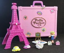 Polly Pocket mini 💛  1996 - Polly in Paris - Vacation Fun Eifelturm 100%