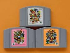Nintendo 64 Mario Party 1 2 3 set Japan N64