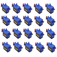 20pcs x 9G SG90 Mini Micro Servo For RC Robot Helicopter Airplane Car Boat