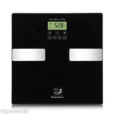 400lb/180kg Digital Body Weight Bathroom Scale Fat Muscles Calorie BMI Bone Mass