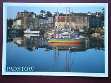 POSTCARD CORNWALL PADSTOW - REFLECTIONS
