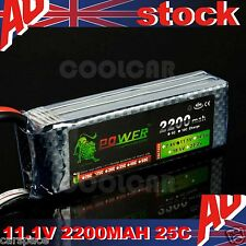 11.1V 2200MAH 25C Polymer lithium ion battery for Quadcopter RC plane Jet Car OZ