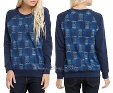 Doctor Who TARDIS Police Call Box Girls  Juniors S Pullover Long Sleeve Top