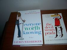 Lot 2 Lauren Weisberger The Devil Wears Prada 0767914767; 9780743262293