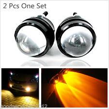 2 Pcs 5W Yellow Cree LED Fisheye Vehicle Fog DRL Lights Reversing Parking Lamps