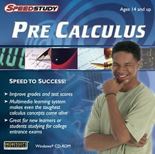 Speedstudy Pre-Calculus  Take the stress out of high school math  XP Vista 7 8