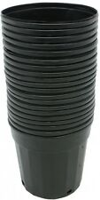 Plastic Nursery Pot 20 Pack Pots 3 Gallon Flower Vegetable Plant Garden Planter