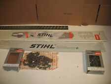 "Stihl 32in Duromatic E Chainsaw Bar 32"" Hard nose 2 Chains ms880 088 084 076 075"