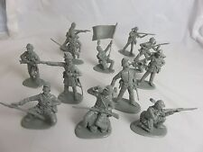 IMEX Civil War Union Infantry 1/32  Gray,(54MM) 12 Toy Soldiers