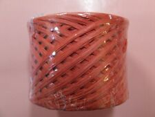 Christmas RED Paper Craft Ribbon Wrapping RAFFIA  WRAPHIA 100 YD Roll Heavy