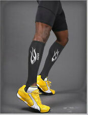 Compression Calf Sleeves Socks -More convenient than Pants or Tights AFL Running