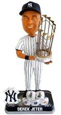 MLB Derek Jeter New York Yankees 5X Champ/Rings Bobblehead Limited to 2014 pcs