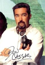 24 - Twenty Four Seasons 1 & 2 Auto Card A4 Jon Cassar - Director / Producer