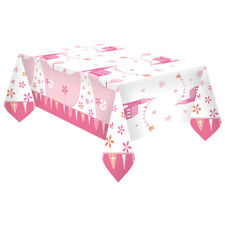 Pink Church Christening Tablecover Confirmation Communion Baptism Party Tablewar