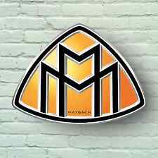 MAYBACH BADGE LOGO 2FT GARAGE SIGN PLAQUE CAR SUPERCAR 57 62 GUARD LANDAULET