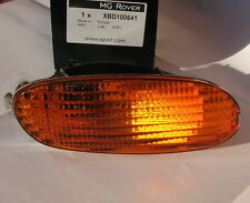 MG Rover F MGF Right OSF Amber Orange Front Indicator Light Lamp XBD100641 New