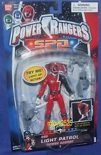"Power Rangers SPD Light Patrol RED Ranger New 5"" Factory Sealed  made 2004"
