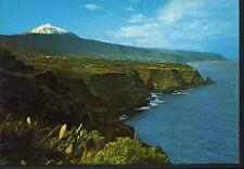 POSTAL COSTA NORTE Y TEIDE . TENERIFE . ISLAS CANARIAS .MAS EN MI TIENDA CC2122