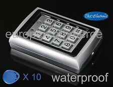 Waterproof RFID Proximity Keypad DOOR ENTRY SYSTEM - Tastiera numerica password