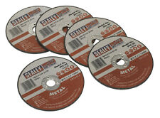 Cutting Disc 76 X 2 X 10Mm Pack Of 5 General Purpose Replacement Sealey Ptc/3C5