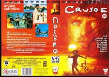 Crusoe, Aidan Quinn Video Promo Sample Sleeve/Cover #14675