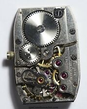 LONGINES CHRONOMETER GRADE RECTANGULAR WRISTWATCH MOVEMENT  SPARES REPAIR 49A