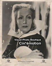 Photo Cartonnée Cinéma 24x30cm (1933) GRETA GARBO La Reine Christine, Queen Chri