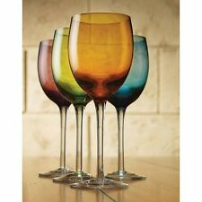 Colorful Wine Glasses - 12 Ounce - Set of 4