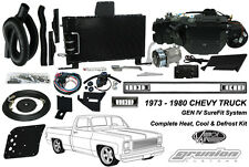 Chevy C10 Truck w/o AC 1973-1980 Air Conditioning Heat Defrost Vintage Air Kit