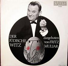 LP / FRITZ MULIAR / JÜDISCHE WITZE / AUSTRIA / RARITÄT /