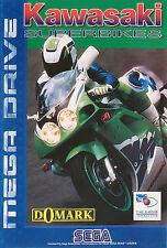 ## SEGA Mega Drive - Kawasaki Superbikes - TOP / MD Spiel ##