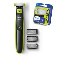 Philips OneBlade QP2520 plus 1 EXTRA BLADE Rechargeable Shaver 3 X Combs