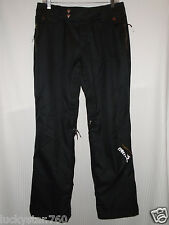 Nomis Guru Women's  Black Insulated Snowboard Pants Size Small