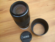 Minolta AF zoom 75-300mm 1:4 .5 (32) - 5.6 anche per Sony A ed E-Mount