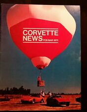 Corvette News Magazine 1975 Febuary March 1975 Issue How to top a corvette pics