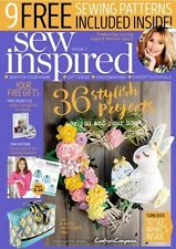 SEW INSPIRED MAGAZINE ISSUE 7 WITH 9 FREE SEWING PATTERNS -  DEBBIE SHORE