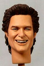 1:6 Custom Head of Kurt Russell as Jack Burton V2 from Big Trouble Little China
