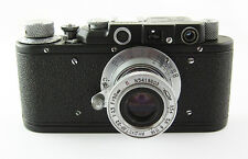 ZORKI 1 Vintage Russian Leica copy RF Camera Industar 22 M39 Lens #351329 BLACK