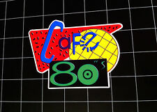 Cafe 80's Back to the Future 2 style vinyl decal / sticker bttf marty mcfly 80s