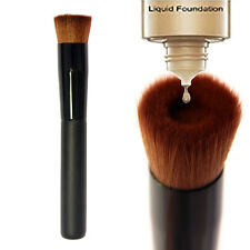 Makeup Brush Flat Angled Liquid Foundation Powder Blush Contour Stipple Blending