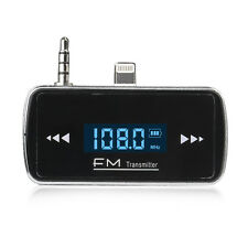 Car FM Radio Modulator Transmitter Wireless MP3 Player ITRIP For iPhone 5S 5C