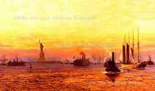 """GRAND PRINT 18"""" x 34"""": Norman Wilkinson - Approach Of The New World, RMS Olympic"""
