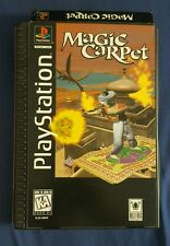 Magic Carpet For The PlayStation 1 PS1 Complete Long Box Tested Working Bullfrog