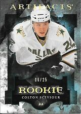 11/12 Upper Deck Artifacts Spectrum Rookie #162 Colton Sceviour #06/25