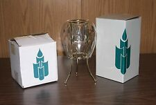 PARTYLITE OPTIC ODYSSEY CANDLE HOLDER AND STAND P0353 & P7500