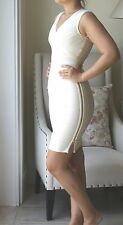 HERVE LEGER LORELEI DRESS S UK 8